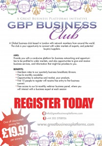 Join us as we network businesses ready for new business deals!